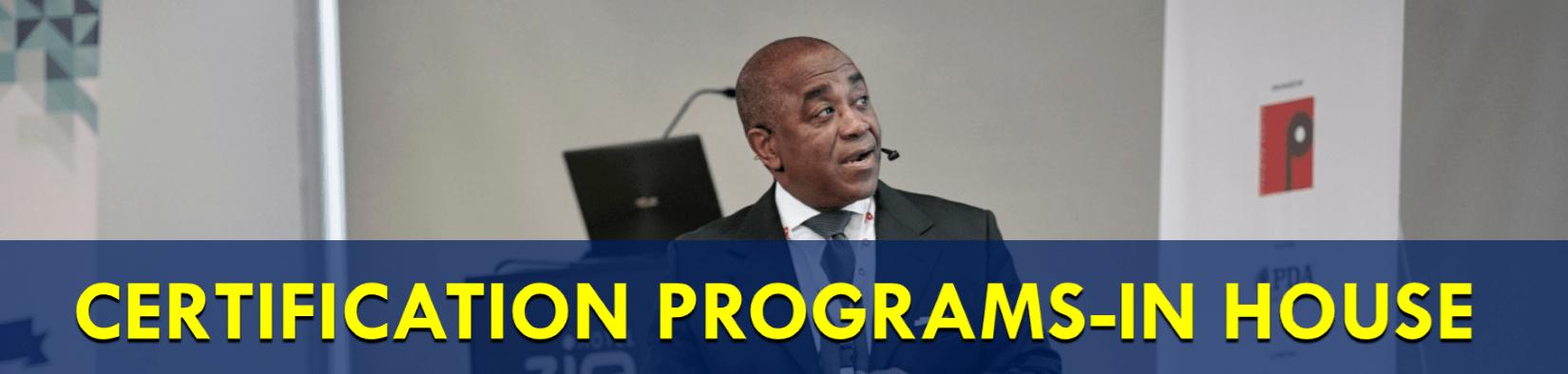 The In-House sHRBP Certification Program