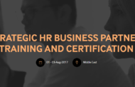 Strategic HR Business Partner  Training and Certification